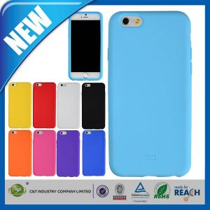 China C&T good QCD silicon gel case for iphone 6 on sale