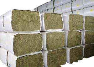 China Woven Polypropylene Hay Bale Sleeves Cloth Roll , Hay Bale Covers UV Treated on sale