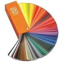 China German Ral k5 color cards for fabric on sale