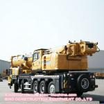 Mobile Telescopic Truck Crane 100 Ton XCT100 Max. Lifting Height  92.6 Yellow Color