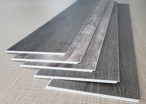 China Carpet Look SPC Fireproof Vinyl Flooring Good Dimension Stability Sound Insulation on sale