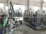 0.3L-2L Glass Bottle Soda Filling Machine , Carbonated Drink Filling Machine