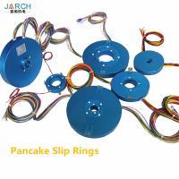 alternator electrical pancake slip ring motor connectors,electric swivel moflon through bore slip ring assembly