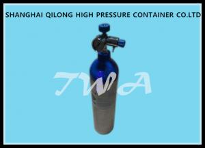 China 2.5L Scuba Diving Cylinder High Pressure With Aluminum , Steel Material on sale