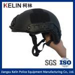 NIJ IIIA 9mm Kevlar  Black Fast Bulletproof Helmet with Test report