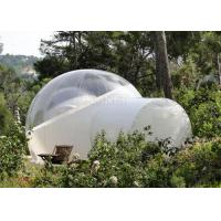 Customized Color Clear Inflatable Lawn Tent , Romantic Inflatable Garden Tent