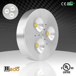 China WD-300A 12V 3W dimmable CE cUL UL Listed LED PUCK LIGHT on sale