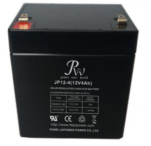 China Jopower JP 12V4Ah Rechargeable Valve Regulated Lead Acid AGM Battery on sale