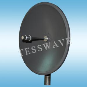 High Gain 51 58GHz 24dBi 80211a Solid Parabolic Dish WLAN Antenna