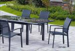 Outdoor Garden Patio Table Set For Dinning , Garden Furniture Table And Chairs