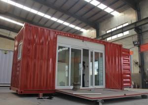 China Modified Shipping Container House With Electrical Platform Wind Resistance on sale