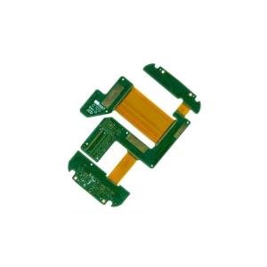China 4 Layer Rigid Flex PCB Board 1.6mm ENIG Lead Free Green Soldermask UL Approval on sale