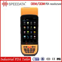 4G Sim Wifi GPS Android PDA Terminal Printer 2D Barcode Scanner Handheld Mobile Phone Wireless with 4.5inch Touch Screen
