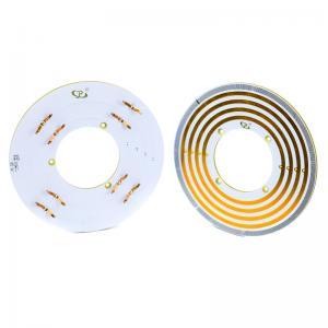 China Pancake Slip Ring 40mm Bore Size Exquisite Design Transmission of USB 2.0 Signal on sale
