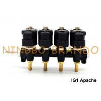 IG1 Apache OMB Type LPG / CNG Rail Injectors HD 4 Cylinders 3 Ohms DC12V