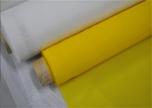 Quality Silk Screen Polyester Printing Mesh , Tensile Bolting Cloth Square Hole Shape for sale
