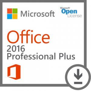 China Windows Office 2016 Key Code Professional Plus 2016 Open Academic 1 GB 32 Bit on sale