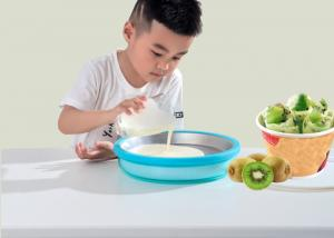 China Miracle Exclusives Non Electricity Instant Fried Ice Cream Making Tray 23cm Diametre on sale