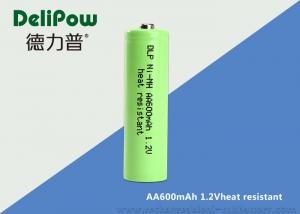 China AA 600mAh High Temperature Rechargeable Battery With CE Certification  on sale