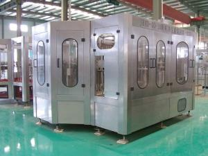 China Stable Hot Juice Filling Machine 2000 BPH - 20000 BPH Capacity For Pet Bottle on sale