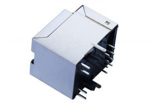 China 1840419-2 180° RJ45 Jack With Step LPJD1011BENL Wireless Sensor Network on sale