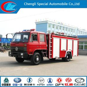 China 190HP Euro 3 Water Fire Fighting Truck with Good Fire Pump on sale