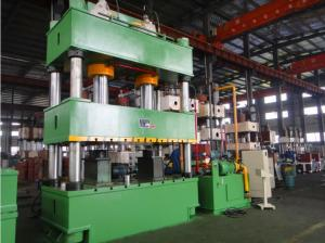 China Four Column 1000 Ton Hydraulic Press , PLC Press Control CNC Punching Machine on sale
