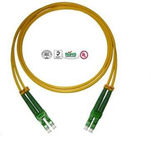 China 12 Cores LC Fiber Optic Patch Cord for Data Transmission 3.0mm Diameter on sale