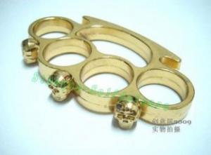 Quality Terminator Skull brass knuckles duster for sale