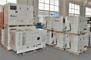 China Enclosed Water-cooled Residential Diesel Generators Single Phase Three Wire 13.6KW - 15KW on sale