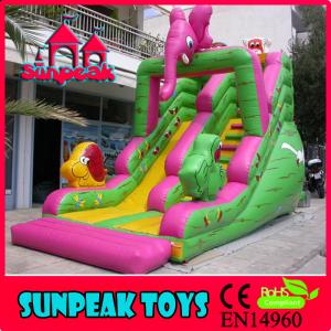 China SL-261 Children Park Inflatable Stair Slide Toys on sale