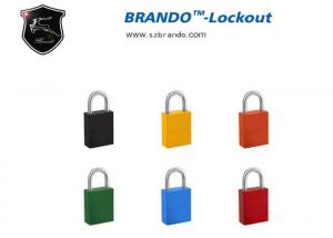 China BO-G63Safety Padlock ,  Differ Colorful Aluminum Padlocks , High Quality And Top Security Color Aluminum Padlock on sale
