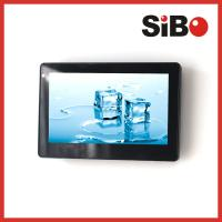 China Industrial Control HMI 7 Wall Mounted POE Touch Screen With RS485 Temperature Sensor on sale