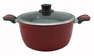 China 鋳造アルミの磁器によってエナメルを塗られる焦げ付き防止のダッチ オーブンを模倣して下さい on sale