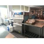 ECO-M90P Rack conveyor dishwasher Stainless Steel 190KG 10KW / 28KW