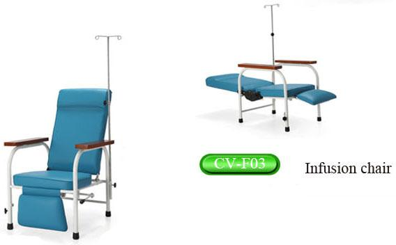 Portable Hospital Adjustable Height Infusion Chair, Medical Examination  Chair Images
