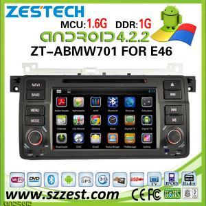 China ZESTECH para el jugador cd del mp3 mp4 del coche del bmw e46 con el sistema de Android de la navegación de los gps on sale