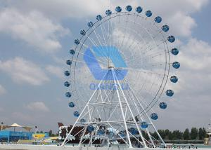 China 20m Electric Ferris Wheel Ride , Amusement Park Kiddie Major Rides 8min/Circle Speed on sale