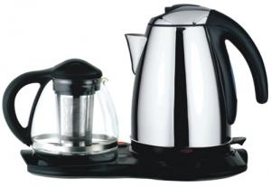 China 1L Cordless Stainless Steel Kettle on sale