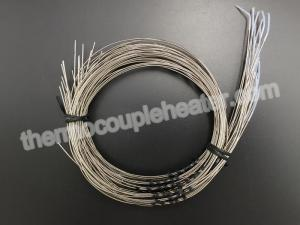 China Type N Pt100 RTD Temperature Sensor Mineral Insulated With Bare Leads on sale