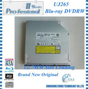 China 2014 100% NEW SATA optical drive Slot Bluray DVD RW Drive UJ265 on sale