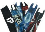 Fashionable Skateboard Non Slip Tape , Galaxy Colored Grip Tape Skateboard