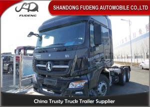 China 10 Wheel Tractor Head Trucks 6 X 4 , 4 X 2 , 6 X 6 Drive Type 380 HP on sale