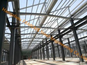 China Q345B or Q235B Industrial Shed Design Steel Structure Warehouse Prefabricated Building on sale