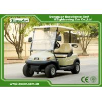 China 2 Seater 48v Trojan Battery Electric Golf Cart / Mini Golf Buggy on sale