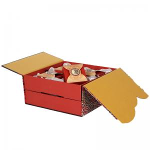 China Recyclable Cardboard Food Boxes / Food Packaging Paper Box ODM Service on sale