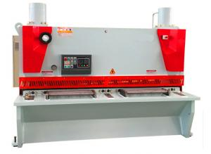 China Hydraulic Sheet Metal Shearing Machine Thickness12mm * Lenght 8000mm on sale
