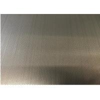 China Nickel Plate Hexagon Metal Mesh 7% -83% Perforated Anti Acid Alkali For Making Chair on sale