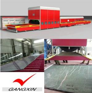 China GX-QDLP Series Force Convection Glass Tempering Furnace on sale