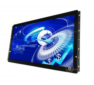 China Map Station Open Frame Touch Monitor 24'' Full HD 12V DC In With Hdmi AV VGA Input on sale